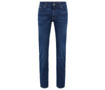 Regular-Fit Jeans aus softem italienischem Stretch-Denim