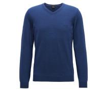 Regular-Fit Pullover aus Schurwolle
