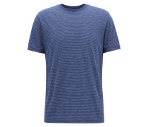 Regular-Fit T-Shirt aus Baumwoll-Mix