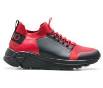 Sneakers zum Schnüren mit dicker Vibram-Sohle