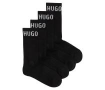 Kurze Socken aus Baumwoll-Mix