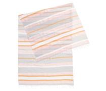 Gestreiftes Halstuch aus leichtem Baumwoll-Mix