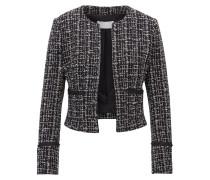 Regular-Fit Blazer aus italienischem Tweed