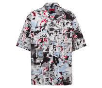 Fashion Show Oversized Hemd