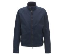 Leichte Jacke aus Stretch-Gewebe mit Knitter-Optik