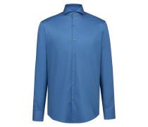 Regular-Fit Hemd aus bügelleichter Baumwolle