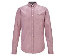 Regular-Fit Button-Down-Hemd aus Stretch-Baumwolle