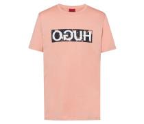 T-Shirt aus Baumwoll-Jersey mit Reversed-Logo