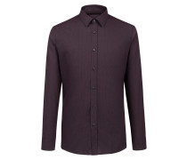 Extra Slim-Fit Hemd aus Baumwolle mit Logo-Print