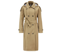 Relaxed-Fit Trenchcoat aus Baumwolle