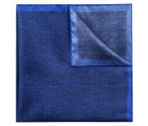 Einstecktuch aus Seide mit Streifen-Muster