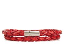 Geflochtenes Armband aus Leder