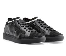 Sneakers aus Nappaleder im Tennis-Stil