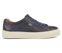 Leder-Sneakers im Tennis-Stil