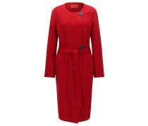 Regular-Fit Mantel aus Woll-Mix