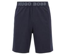 Pyjama-Shorts aus Stretch-Baumwolle