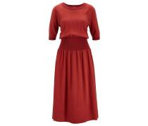 Kleid mit breitem Taillenbund