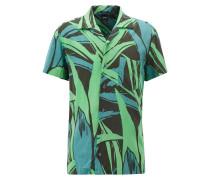 Bedrucktes Regular-Fit Hemd mit Grafik-Print