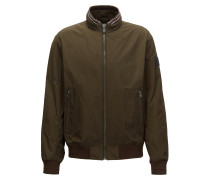 Wasserabweisender Regular-Fit Blouson