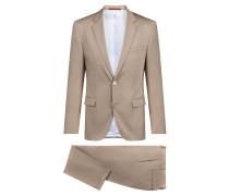 Extra Slim-Fit Anzug aus Stretch-Baumwolle