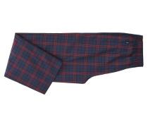 Karierter Pyjama aus Baumwoll-Twill in Geschenkbox