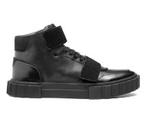 Hightop Sneakers aus Leder