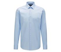 Regular-Fit Business-Hemd aus reiner Baumwolle