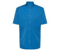 Relaxed-Fit Kurzarm-Hemd mit Button-Down-Kragen
