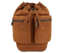 Rucksack aus genarbtem Leder aus der Fashion Show Capsule