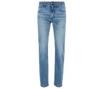 Regular-Fit Jeans aus umweltfreundlichem Stretch-Denim