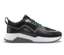 Sneakers aus Leder und Mesh aus der Bits & Bytes Capsule