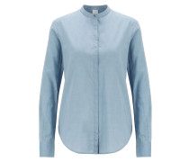 Relaxed-Fit Bluse aus Baumwoll-Mix
