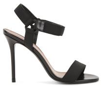 Sandalen aus italienischem Leder und Canvas