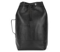 Rucksack aus perforiertem Leder