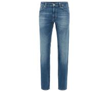 Regular-Fit Jeans aus softem Stretch-Denim