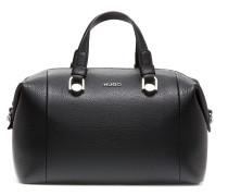 Bowling Bag aus genarbtem italienischem Leder