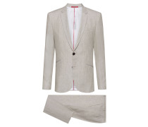 Extra Slim-Fit Anzug aus reinem Leinen