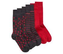 Socken im Dreier-Pack in einer Geschenkbox