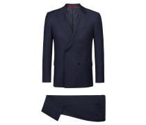 Slim-Fit Anzug aus italienischer Schurwolle