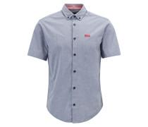 Regular-Fit Hemd aus Stretch-Baumwolle