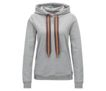 Kapuzen-Sweatshirt aus French Terry