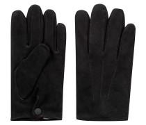 Handschuhe aus Veloursleder mit Kaschmirfutter