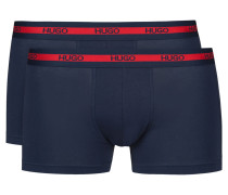 Zweier-Pack Boxershorts aus Stretch-Baumwolle