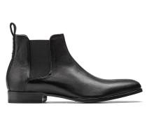 Chelsea Boots aus genarbtem Leder