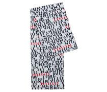 Schal aus leichtem Modal-Mix mit Slogan-Print