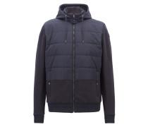 Sweatshirt-Jacke im Bomberjacken-Stil