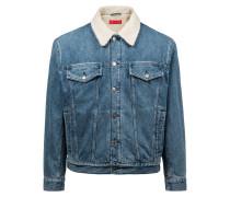 Unisex-Jeansjacke aus italienischem Denim