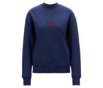 Oversized Sweatshirt aus French Terry