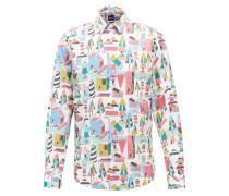 Limited Edition Regular-Fit Hemd aus Satin