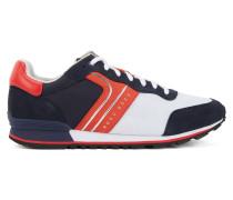 Leichte Sneakers aus Velours-, Nappa- und Nubukleder